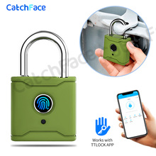 Bluetooth Smart Padlock Fingerprint Lock Smart Lock Keyless with TTlock App