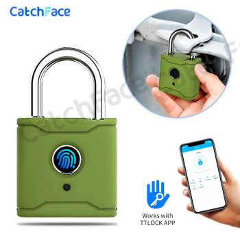 Bluetooth Smart Padlock Fingerprint Lock Smart Lock Keyless with TTlock App - DISCOUNT ITEM  35 OFF All Category