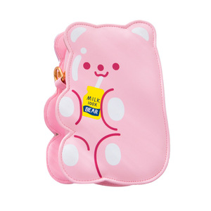 Image 5 - Bentoy PU Leather Girls Crossbody Bag Jelly Bear Phone Organizer Shoulder Bags Cute Laser Girls Lovely Gift for Teenager