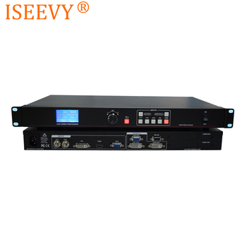 ISEEVY LED Video Processor Support DVI HDMI VGA AV Input for Max 1920x1080@60HZ LED Video Wall Display
