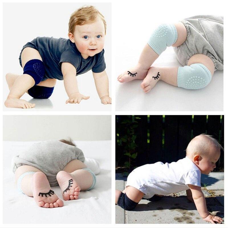 2 New Baby Socks Boy Cotton Toddler Comfort Kids Crawling Knee Socks  Anti-slip Rubber Pads Kids Cute Socks For Toddler