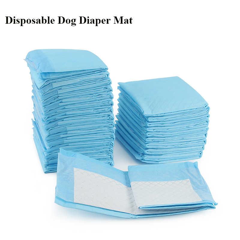 20/40/50/100pcs Disposable สุนัขผ้าอ้อม Super ดูดซับปัสสาวะแผ่นสุนัขลูกสุนัขทำความสะอาดการฝึกอบรมสัตว์เลี้ยงกรงห้องน้ำม