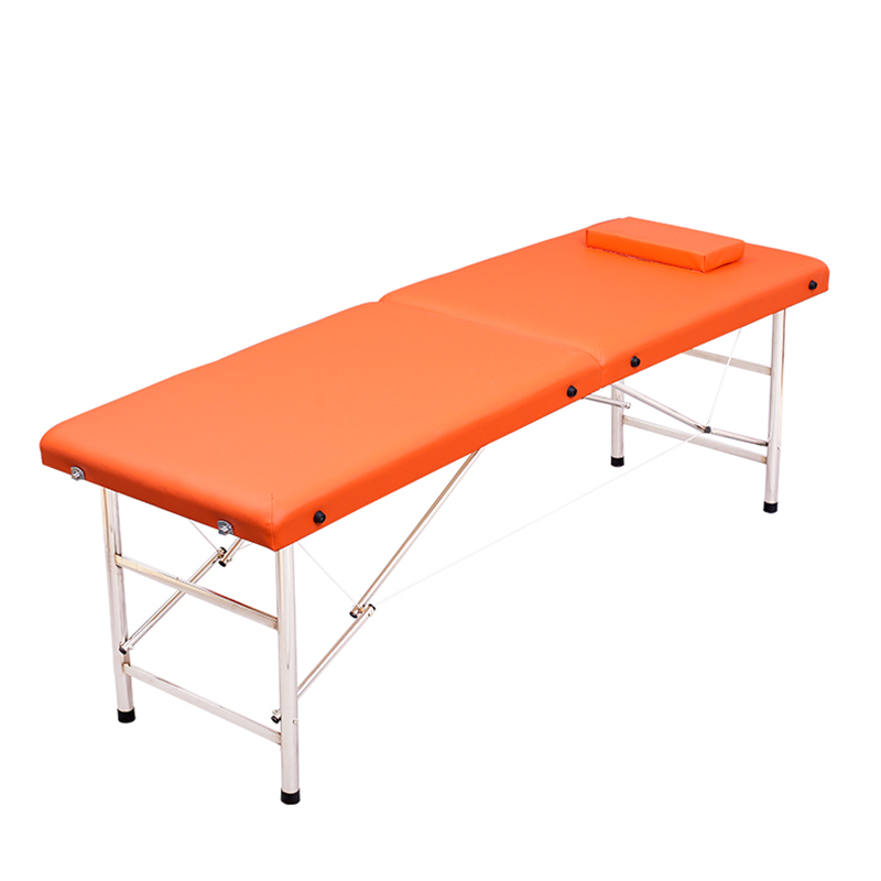 Folding massage bed  portable household bath  embroidery  fire therapy bed  massage bed  portable beauty bed|  - title=