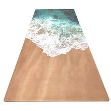 Нескользящий Резиновый Коврик для йоги, коврик для фитнеса, коврик для занятий йогой, гимнастический коврик с сумкой для йоги, коврик для йоги 3,5 мм