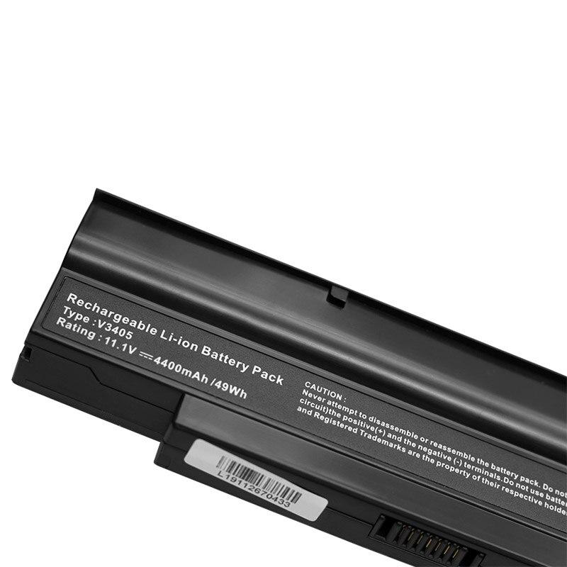BATTERIA 6600mah per Fujitsu-Siemens AMILO Li 2727 li 2732