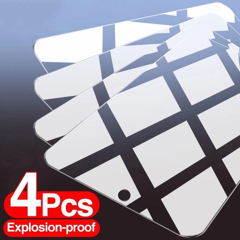 4 pezzi di vetro temperato a copertura totale per Samsung Galaxy A50 A51 A30 A71 vetro protettivo per Samsung A51 A30 A50 protezione dello schermo