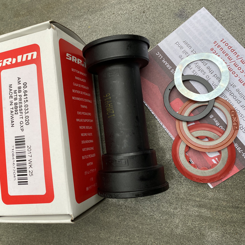 for SRAM bb92 GXP mountain bike middle axle press in type middle axle conversion sleeve xx1 xo1 GX NX RED FORCE tooth disc