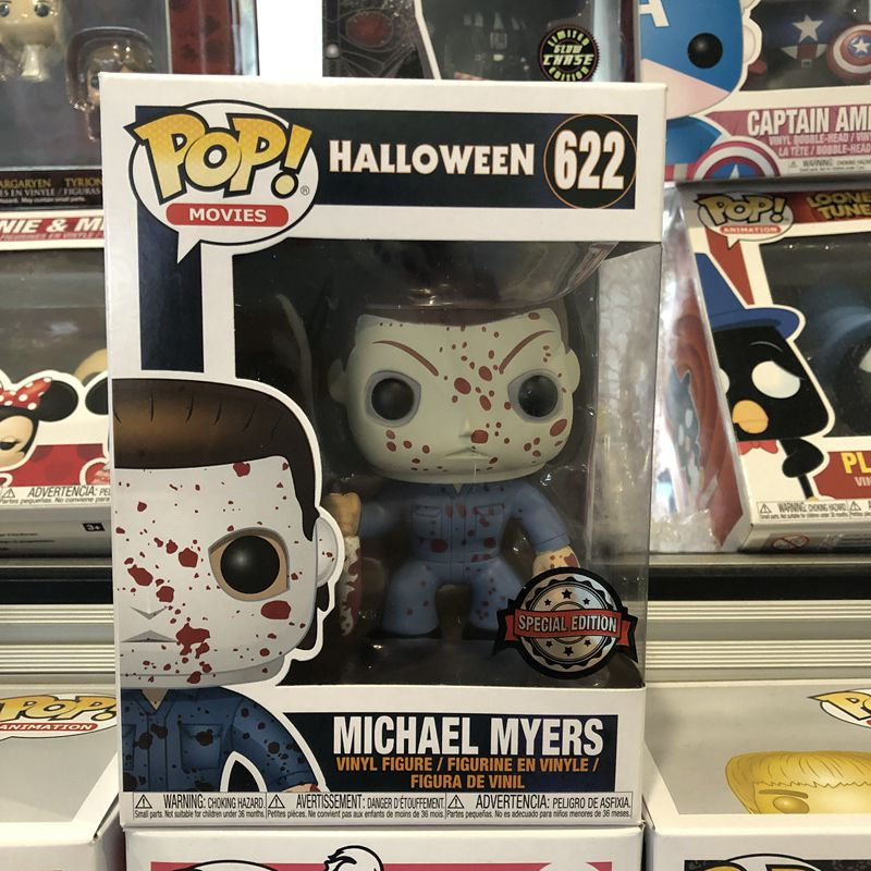 POP Halloween BLOODY MICHAEL MYERS #622 EXCLUSIVE by Funko Brand New