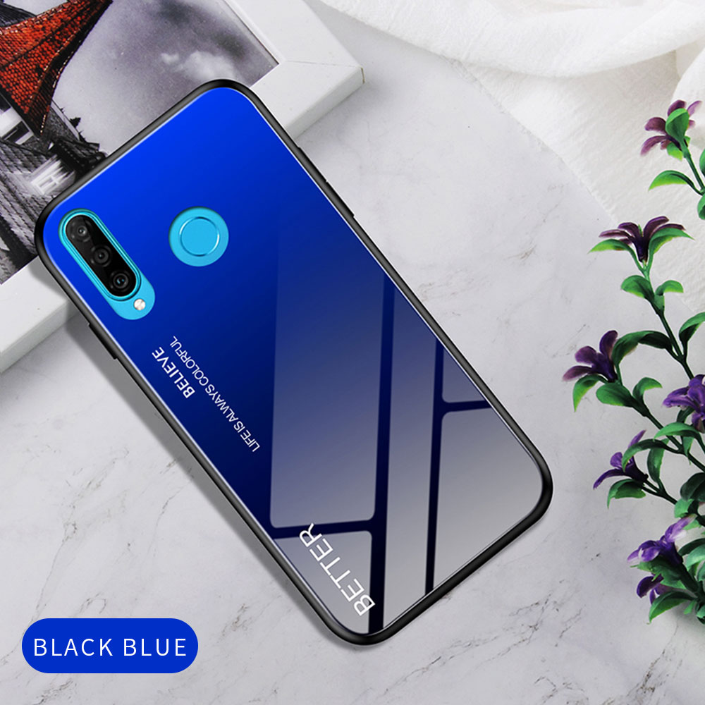 Hca41de15d6374b69abf4721dda7fef4bk Phone Case for Huawei Honor 20s 20 Case Marble Tempered Glass Soft Tpu Frame Back Case for Huawei Honor 20s Honor 20 Pro Case