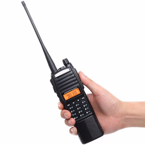 Image 4 - Baofeng UV 82 Plus Walkie Talkie 8W Powerful 3800 mAh Battery DC Connector UV82 Dual PTT Band two way radio 771 tactical Antenna