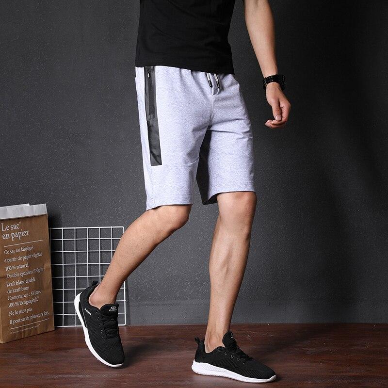ZNG Quality Men Casual Shorts Brand Fitness Shorts Mens Professional Bodybuilding Short Pants Gasp