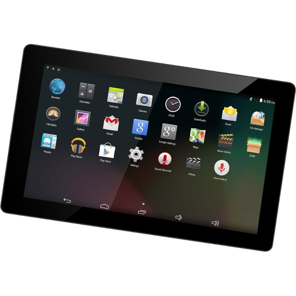 DENVER TAQ-90082 Tablet 9 Inch Quad Core Android 8,1 8GB Storage 1GB RAM 3500 MAh Camera