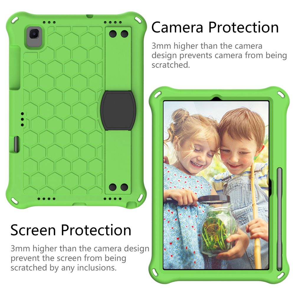 For Samsung Galaxy Tab A7 10.4 2020 with strap EVA materials tablet cover for Galaxy Tab S5e S6 Kids case for SM-T500 T720 T860-3