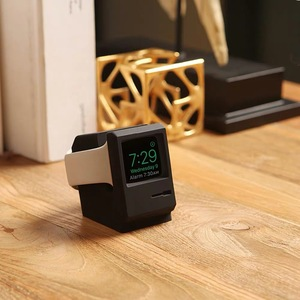 Image 2 - Retro Charger Dock Compact Stand For Apple Watch Series 1/2 38mm 42mm Charging Docking Desktop Holder New