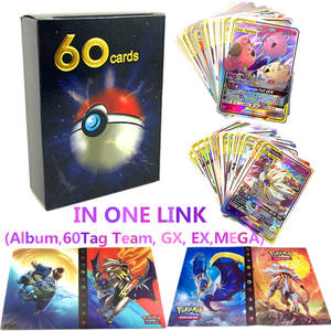 Toys Book-Top Album Collections Pokemones-Cards 240pcs-Holder Children Gift for Loaded-List