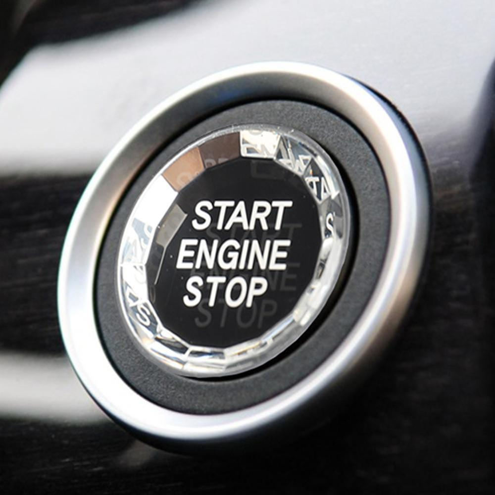 Car styling ENGINE START STOP Switch Button <font><b>Sticker</b></font> For <font><b>BMW</b></font> 1 2 3 4 5 6 7 Series <font><b>F20</b></font> F21 F22 F23 F30 F34 F10 F18 F12 F07 F01 F02 image