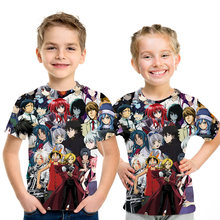 Pirata wang lufei T Shirt Genitore bambino vestito Bambini hrarjuku Più Nuovo Lufei tops abbigliamento streetwear t shirt casual 3D Divertente Kid S