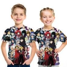 פיראטים וואנג lufei חולצה הורה לילד תלבושת ילדים hrarjuku החדש Lufei חולצות בגדי streetwear חולצות מקרית 3D מצחיק קיד S