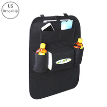 New Felt Covers Back Seat Pockets Car Backrest Storage Bags Styling Automobile Hanging Bag Sundries Organizer