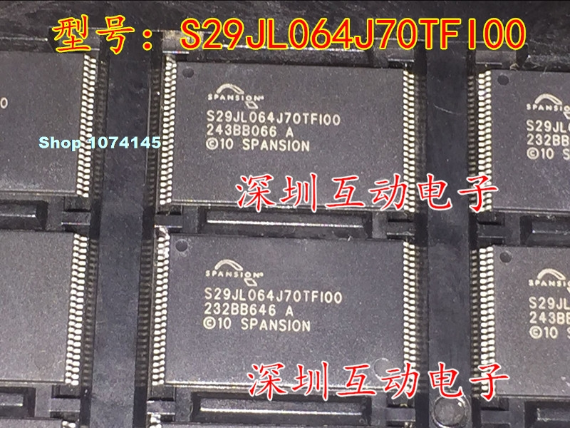 S29JL064J70TFI00 S29JL064J70TF100 TSOP48