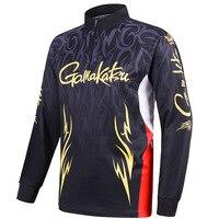 Gamakatsu colete de pesca primavera verão men manga longa camisas ciclismo ao ar livre secagem rápida respirável roupas|Coletes de pesca| |  -