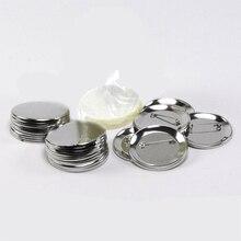 500 шт металлическая пустая пуговица Кнопка значок Запчасти для одежды производитель значков металлические материалы для поделок DIY