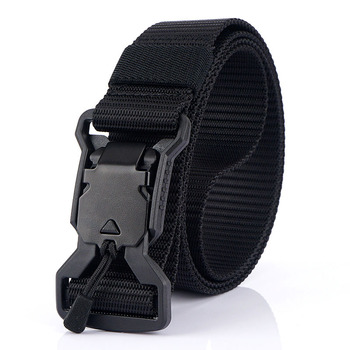 3.2cm Width New Men Belt Tactical Designer Belts For Jeans Trousers Emergency Survival Nylon Magnetic Buckle Army Hunting