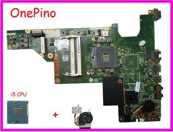 646671-001/646177-001 аккумулятор большой емкости с i3 cpu Радиатор совместимый HM65 для hp CQ43 CQ57 430 431 435 630 635 материнская плата PGA988B