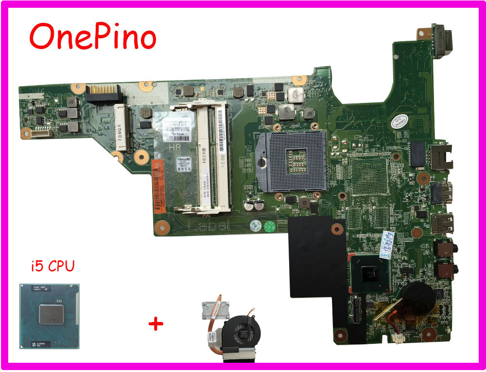 646671-001/646177-001 With I5 Cpu Heatsink Compatible HM65 For HP CQ43 CQ57 430 431 435 630 635 Motherboard PGA988B