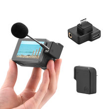 Для экшн микрофона dji osmo 35 мм внешний адаптер для внешней