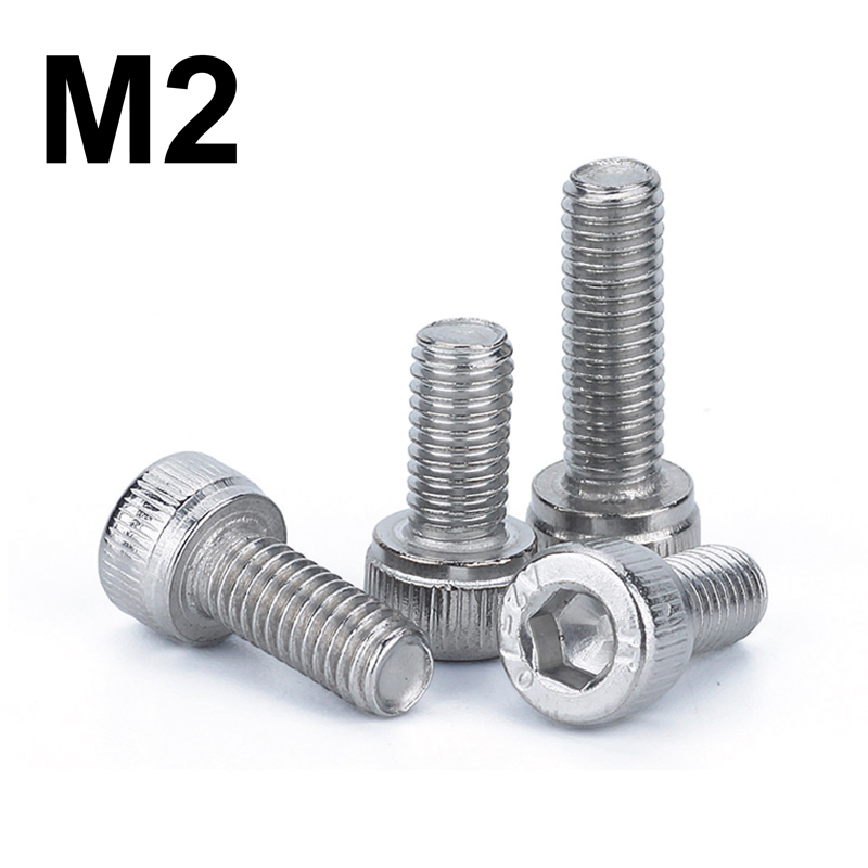 stainless steel screw <font><b>bolt</b></font> <font><b>M2</b></font> long <font><b>3mm</b></font> to 40mm image