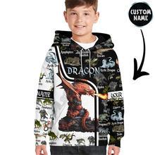 Толстовки с 3d принтом love dragon детский пуловер «сделай сам»
