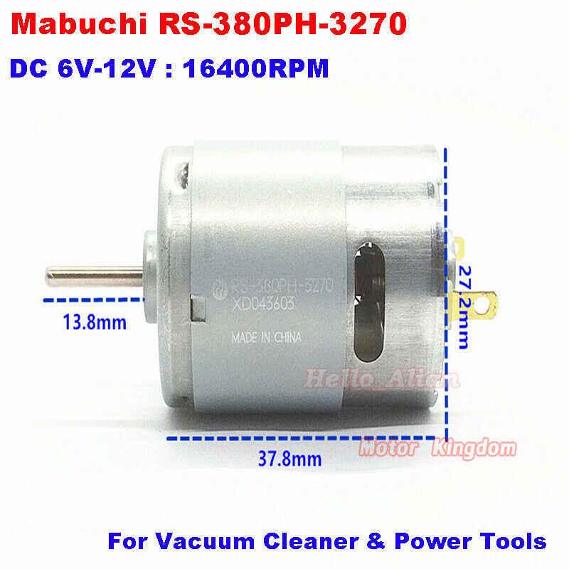 Mabuchi RS-380PH-4045 DC 6V-7.2V 16200RPM motor de par de alta velocidad de potencia coche barco