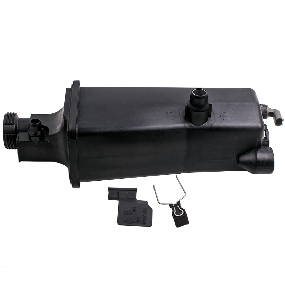 Coolant Expansion Water Tank for BMW E46 E53 E83 E85 316i, 318i With Outlet <font><b>17117573781</b></font> 17111436413 17117573751 image
