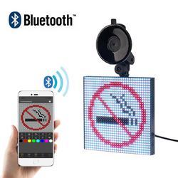 Bluetooth 12V AUTO led Teken APP Controle RGB Screen Programmeerbare voorkeuzezenders Scrolling Bericht LED Display Board Drop Shipping Gift DIY