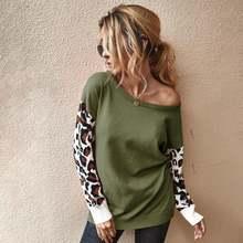 Осенне зимний модный Женский вязаный свободный элегантный свитер