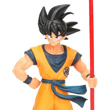 Son Goku Dragon Ball Z Toys Children Anime Figurine dragon ball Figure Model super saiyan Black Hair Goku 20th Anniversary Doll(China)