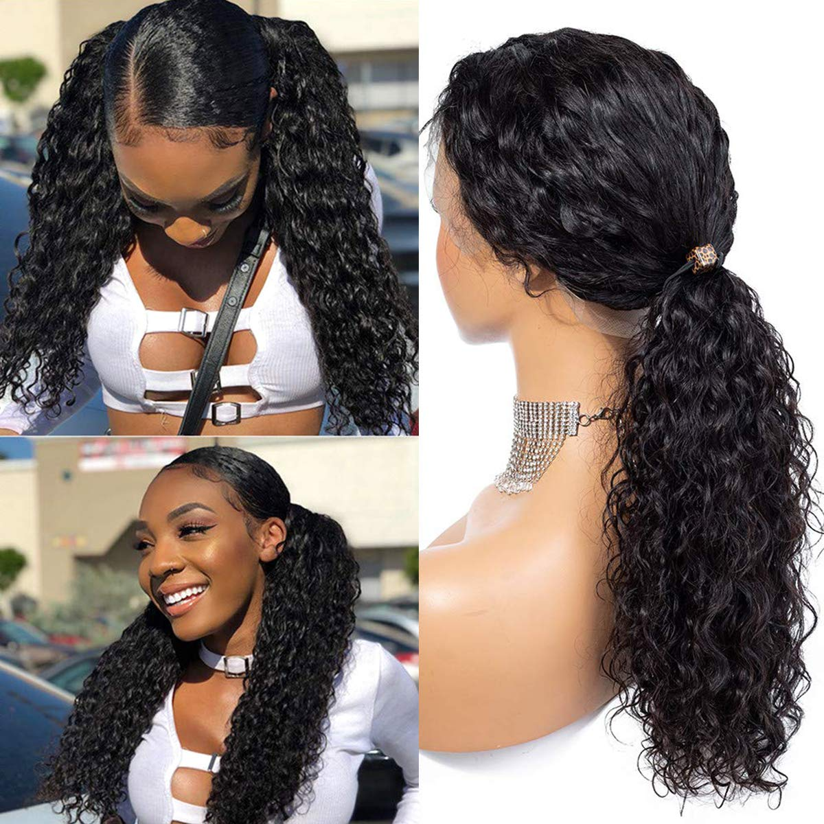HD Transparent 13x6 Lace Front Deep Wave With Undetectable Lace 100 Human Hair Pre Pluck Hairline With Baby Hair For Black Women