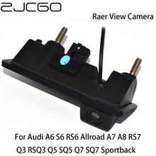 ZJCGO CCD Car Rear View Reverse Back Up Parking Trunk Handle Camera for Audi A6 S6 RS6 Allroad A7 A8 RS7 Q3 RSQ3 Q5 SQ5 Q7 SQ7 audi q3 rsq3 page 1
