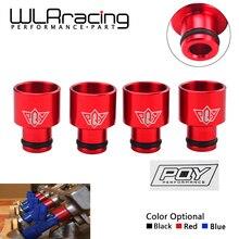 WLR RACING-4 шт. гоночный PQY топливный инжектор топ шапки адаптеры для RDX инжекторы B16 B18 D16Z D16Y с PQY стикер WLR-FIA01