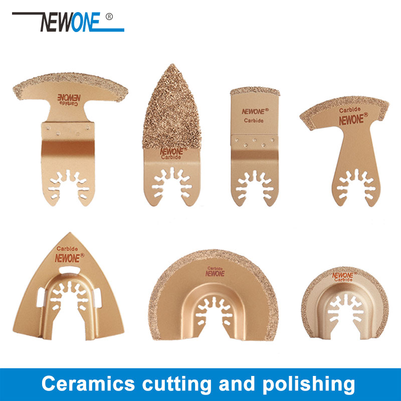 1pc NEWONE Carbide/Diamond Oscillating Saw Blades For Quick Change Multi-tools Tile Prorous Concrete Cement Ceramics Cutter