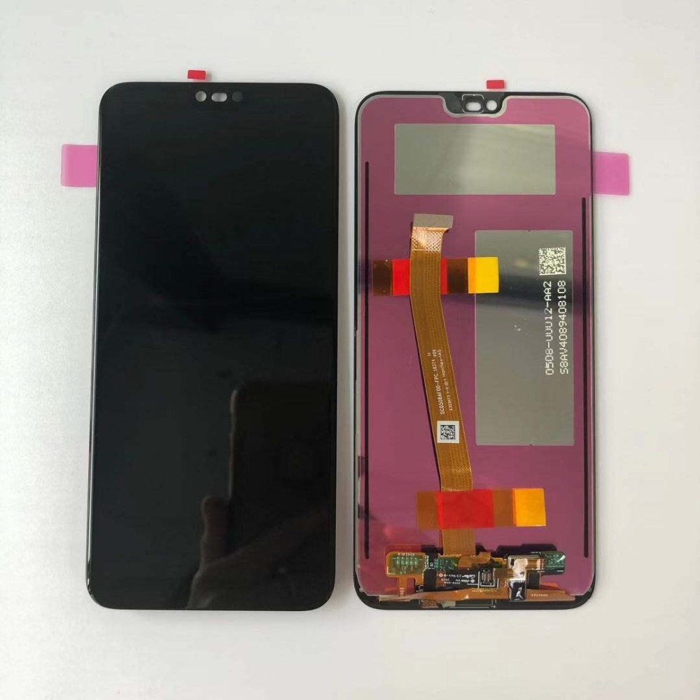 Hca44d549ff684b268eeb2f1f97130372p 100% Original Tested New For 5.84' Huawei Honor 10 COL-L29 LCD Display +Touch Screen Digitizer Assembly Replacement +fingerprint
