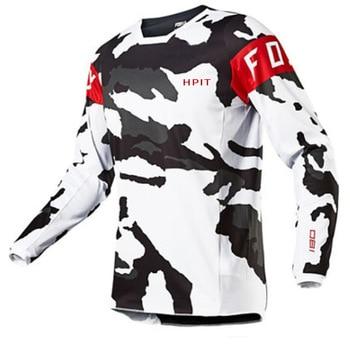 Camiseta de Motocross para hombre, maillot de secado rápido para descenso MX,...