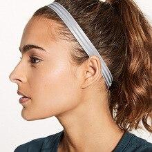 Силиконовая повязка от пота для йоги, высокая эластичность, нескользящая, для бега, для фитнеса, для волос, SMN88