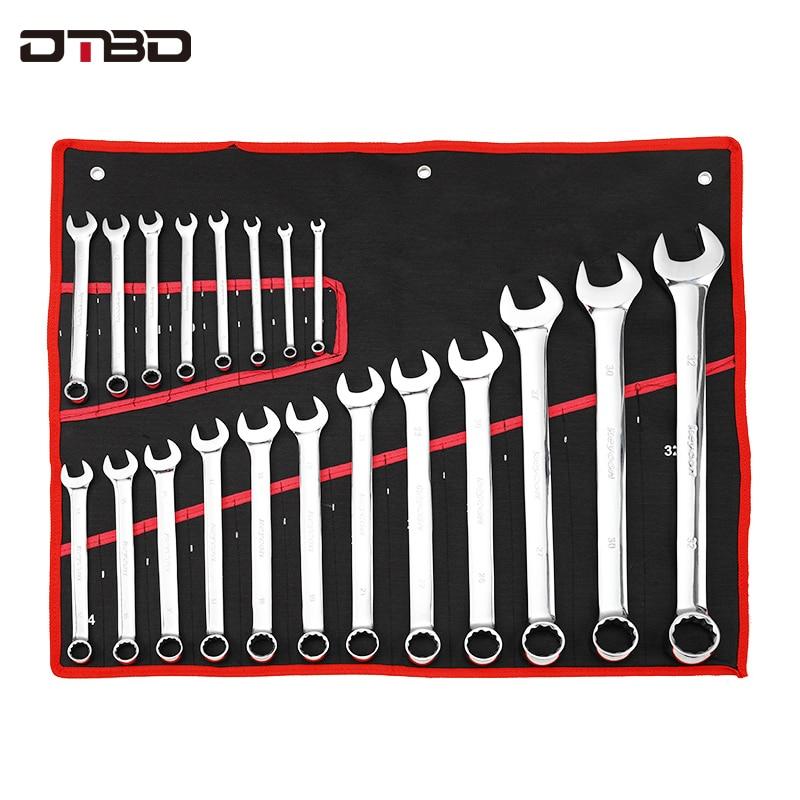 DTBD clé à cliquet rapide jeu de clés clé Multitool clés à cliquet outils à main jeu de clés clé de voiture universelle outils de réparation de voiture