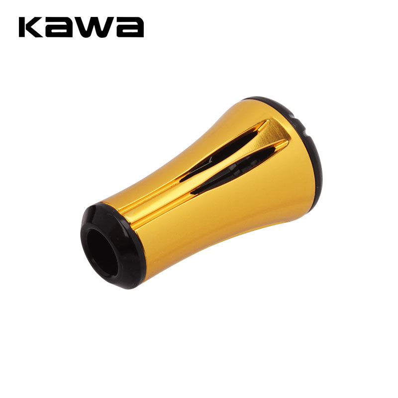 KAWA New Fishing Reel Handle Knob 2pcs/lot Suit For Bearing 7*4*2.5mm Shaft Length About 27mm Reel Fishing Handle Accessory