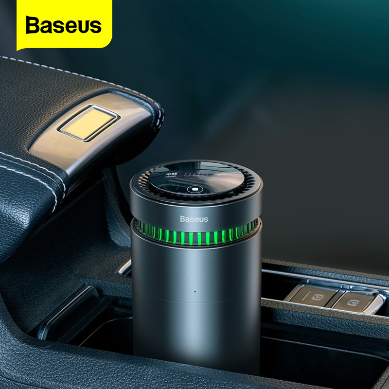 Baseus araba hava temizleyici formaldehit kaldırmak için ev araba hava spreyi temizleyici dijital ekran araba parfüm Aroma YAYICI