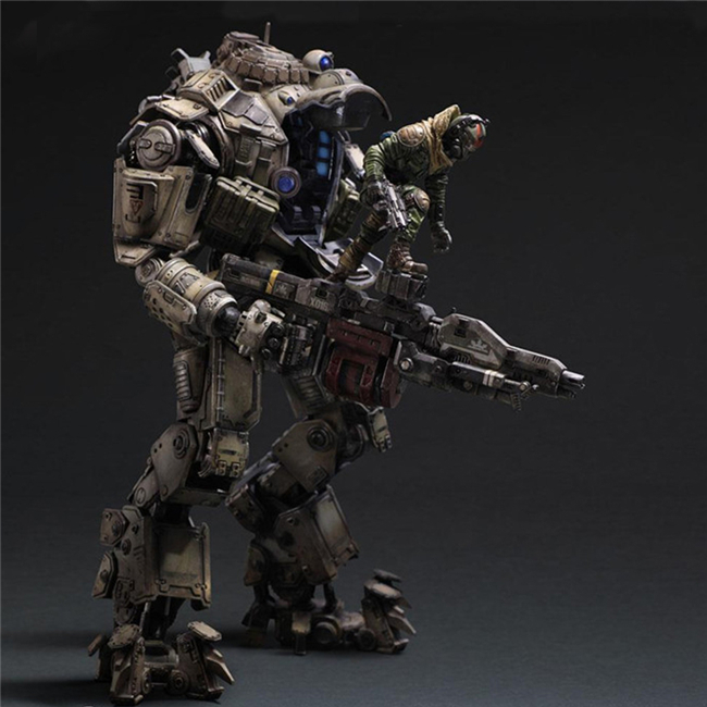 Wholesale PA Figures Titanfall Atlas Movie Dolls Variant Figure Doll Ver. PVC Action Figures Collectible Model Toys 26cm