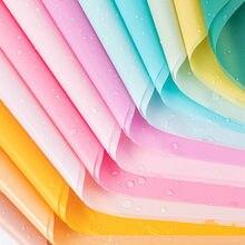 Rouleau de papier de soie imperméable 60x60cm, 20 pièces/lot, papier d'emballage pour vêtements, chaussures, chemises, cadeaux, artisanat, vin