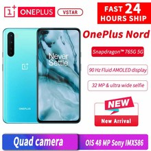 Oneplus Snapdragon 765G Nord Smartphone 128gb 5G/GSM/WCDMA/LTE Nfc Usb-Pd Octa Core Face Recognition